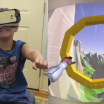 Aidan Trys Superhero Flight VR